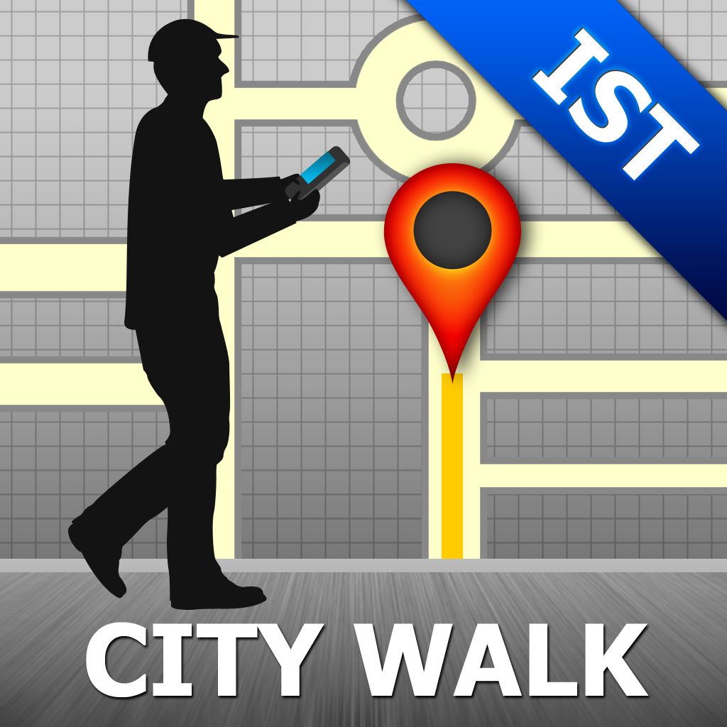 Istanbul Map and Walks, Full Version - GPSmyCity.com, Inc.
